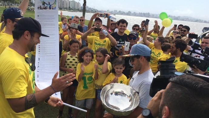 Mineirinho Florianópolis (Foto: Diego Madruga)