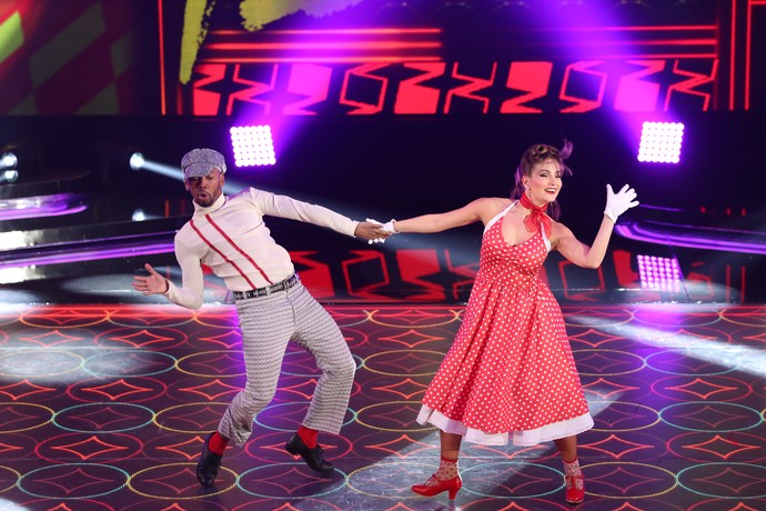 Nego do Borel dançou  (Foto: Carol Caminha/Gshow)