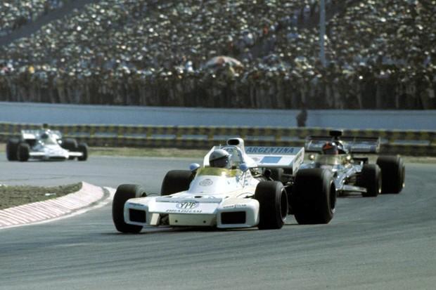 Carlos Reutemann no GP da Argentina de 1972 (Foto: Divulgação)