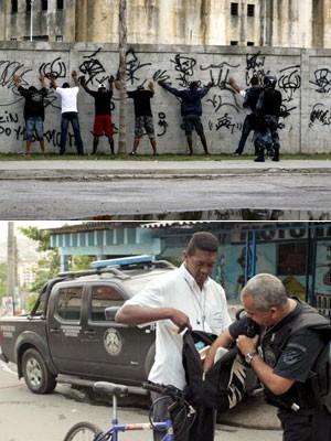 moradores-revista-favelas-rio_300 (Foto: Guto Maia/Frame/Estadão Conteúdo e Marino Azevedo/Governo do Estado do Rio de Janeiro)
