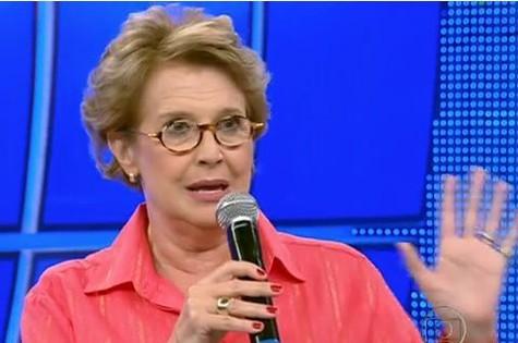 Betty Monteiro, psicóloga do 'Domingão' (Foto: Reprodução)