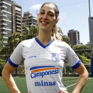 Carol Gattaz, vôlei Minas (Foto: Ignácio Costa / Minas)