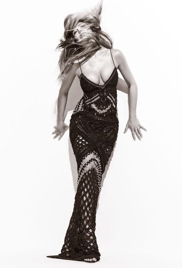 Jennifer Aniston (Foto: Harpers Bazaar/Reprodução)