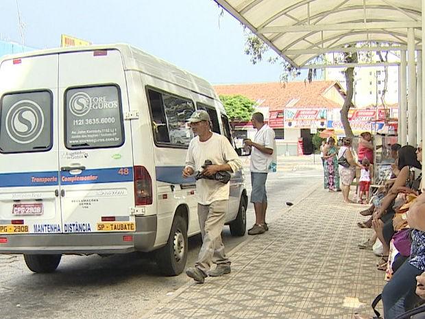 Prefeitura propõe licitação para mudanças no transporte público de Taubaté, SP. (Foto: Reprodução/TV Vanguarda)