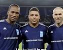 Corinthians usa vídeos e Ronaldo na tentativa de convencer Drogba