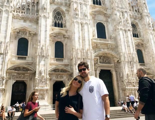 Claudia Leitte e Márcio Pedreira (Foto: Reprodução/Instagram)
