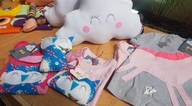 Pigly, roupas, crianças (Foto: Débora Duarte)