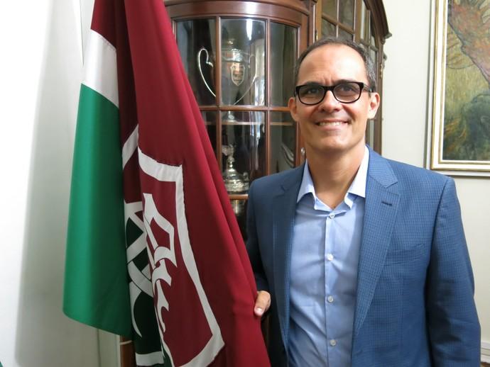presidente pedro abad fluminense entrevista (Foto: Edgard Maciel de Sá)