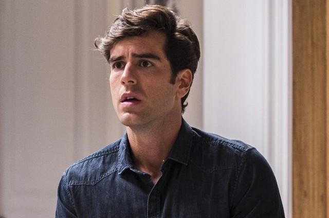 Marcos Pitombo é Felipe em 'Haja coração' (Foto: TV Globo)