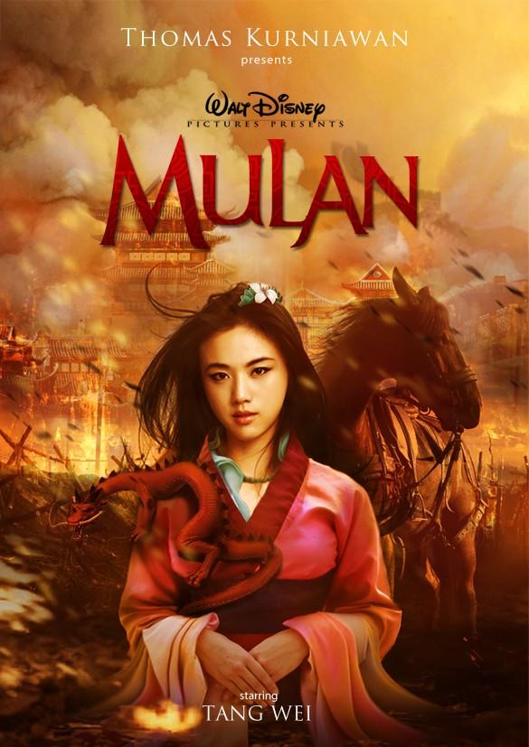 Tang Wei como Mulan (Foto: Thomas Kurniawan)