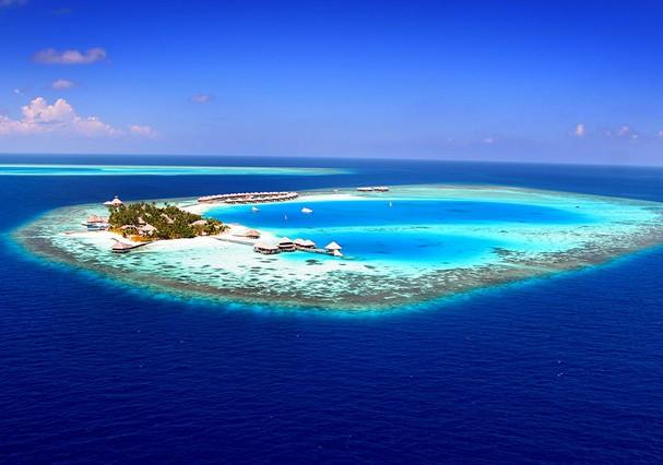 Ilhas Maldivas: de tirar o fôlego! (Foto: Reprodução)