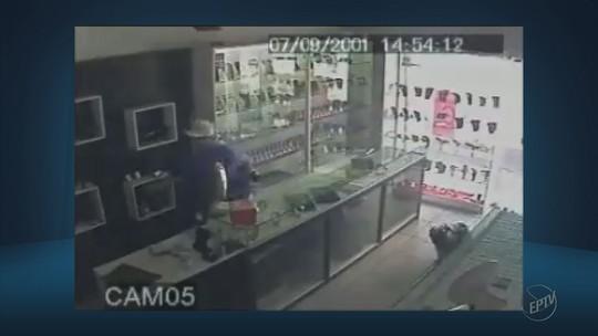 Câmeras flagram assalto em loja de joias no Centro de Campo Belo, MG