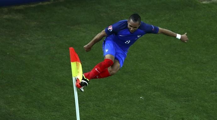 Payet gol França Albânia Eurocopa (Foto: Divulgação Uefa)