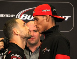 Coletiva UFC 162 Frankie Edgar e Charles Do Bronx (Foto: Evelyn Rodrigues)
