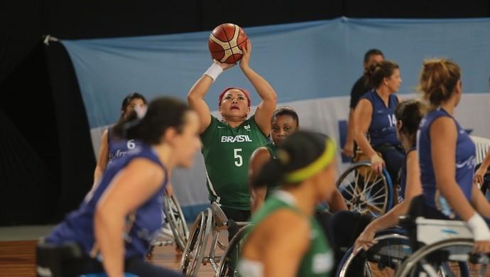 a664fc01ea Brasil Argentina amistosos basquete em cadeira de rodas (Foto  Marcos  Queiroz Divulgação)