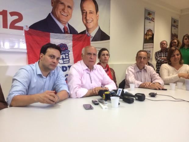 Lasier Martins eleito senador RS (Foto: Caetanno Freitas/G1)
