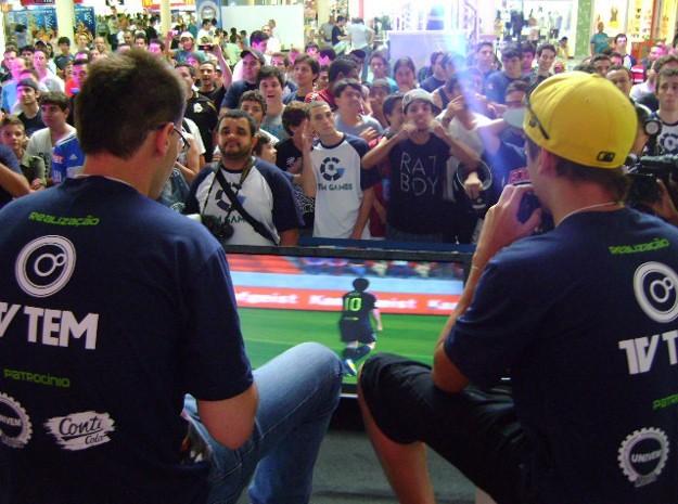 Definidos os campeões do Tem Games em Marília, SP (Foto: Alan Schneider / G1)