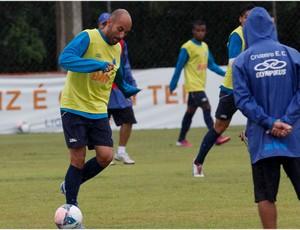 Bruno Rodrigo fará dupla com Paulão no Cruzeiro (Foto: Washington Alves / Vipcomm)