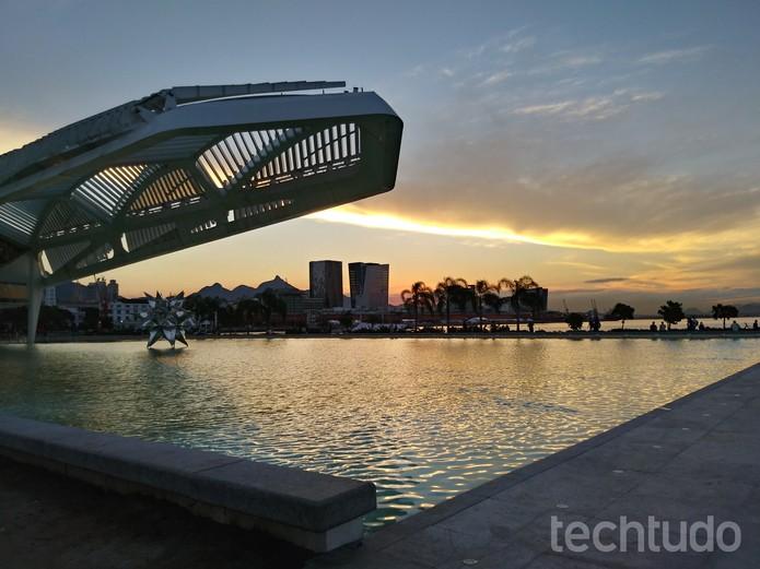 Foto feita com a câmera traseira do LG Q6 Plus (Foto: Aline Batista/TechTudo)