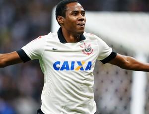 Elias gol Corinthians x Bahia (Foto: Marcos Ribolli)