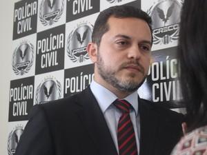 Delegado Carlos César, coordenador do Greco (Foto: Fernando Brito/G1)