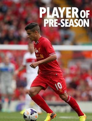 Philippe coutinho liverpool jogador da pré-temporada (Foto: Reprodução / Facebook)