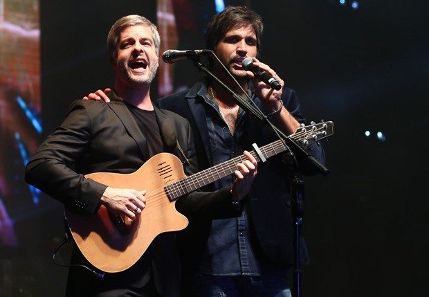Victor e Leo (Foto: Manuela Scarpa/Brazil News)