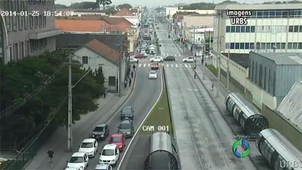 Canaletas estão livres por conta da greve dos cobradores (Foto: Reprodução)