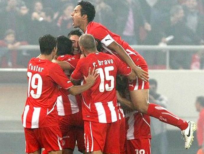 Dudu Cearense, Olympiakos (Foto: Divulgação)