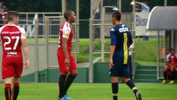 Paulo Miranda em jogo-treino São Paulo x Audax (Foto: Site Oficial / saopaulofc.net)