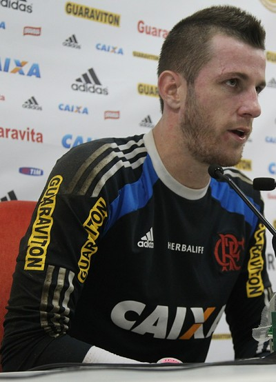 Paulo Victor, Flamengo, jogo-treino, Gonçalense, Ninho (Foto: Gilvan de Souza/Fla Imagem)
