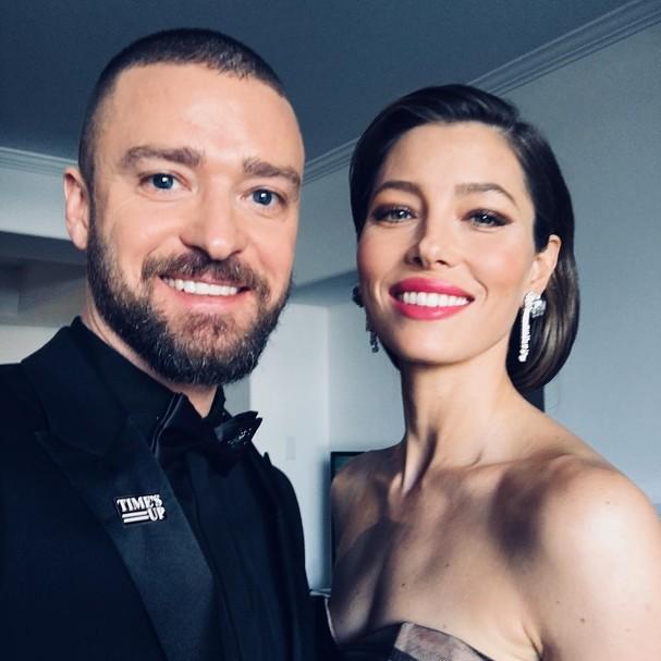 Jessica Biel e Justin Timberlake são casados desde 2012 (Foto: Instagram/Reprodução)