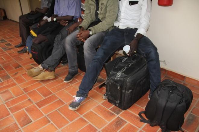 Senegaleses estavam sem o visto  (Foto: Alexandre Lima/ Arquivo pessoal)