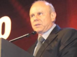 Ministro durante fala em evento na capital paulista (Foto: Simone Cunha/G1)