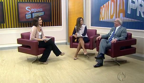 Bom Dia Paraná Segunda de Primeira (Foto: Reprodução/ RPC TV)