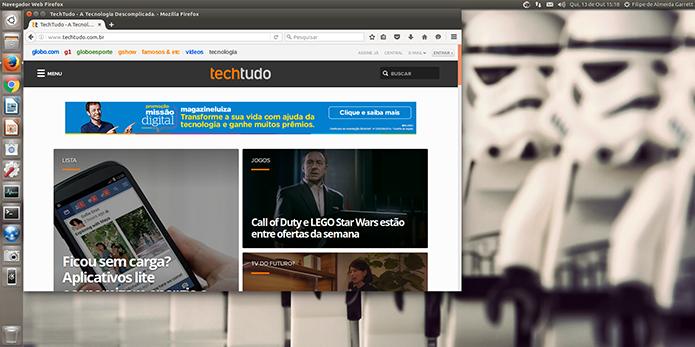 Ubuntu 16.10 já está disponível, mas com novidades discretas (Foto: Reprodução/Filipe Garrett)