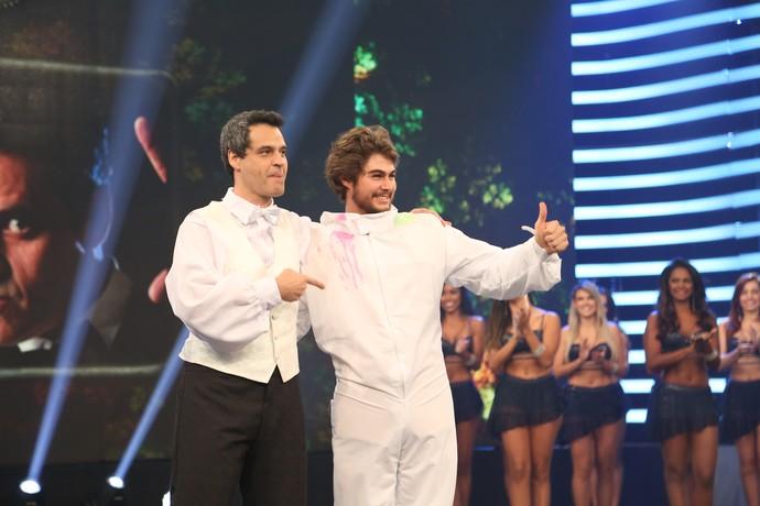 Bruno Garcia e Rafael Vitti: Que dupla, Brasil! (Foto: Carol Caminha/Gshow)