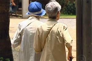 Idade faz pessoa discernir menos os rostos 'suspeitos' (Foto: Reprodução/TV Globo)