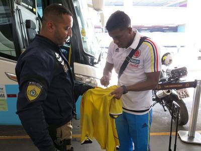 Berrío Atlético Nacional Colômbia (Foto: Daniel Mundim)
