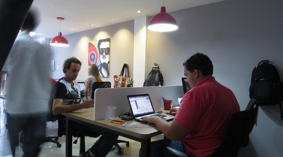 Station Coworking, ambiente no Rio com funcionamento 24 horas por dia (Foto: Reprodução/Facebook)