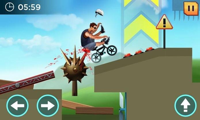 Divertido game no estilo Happy Wheels (Foto: Divulgação / CanadaDroid)