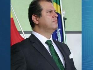 O prefeito de Miguelópolis, Juliano Jorge Mendonça (PRB) (Foto: Reprodução/ EPTV)