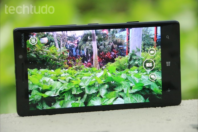 A câmera do Lumia 930 é uma das melhores do mercado (Foto: Lucas Mendes/TechTudo)