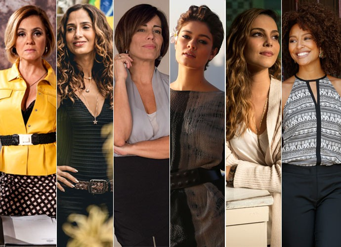 Montagem cabelos (Foto: TV Globo)