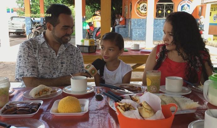 Railane Araújo participou do 'Cantando no Paneiro' (Foto: Rede Amazônica)