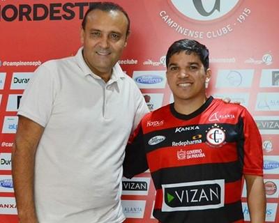 William Simões, Renatinho, Campinense (Foto: Divulgação / Campinense)