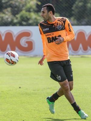 Rafael Marques, Atlético-MG, treino, Cidade do Galo (Foto: Bruno Cantini / Site Oficial do Atlético-MG)