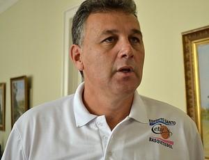 Luiz Felipe Azevedo, diretor presidente do Espírito Santo Basquete (Foto: Eduardo Dias/Globoesporte.com)