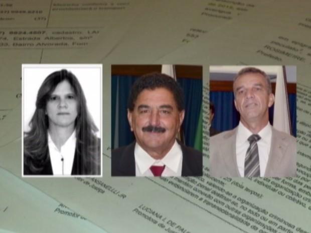 Vereadores de Formiga aparecem em estutas telefônicas obtidas pelo MP (Foto: TV Integração/Reprodução)