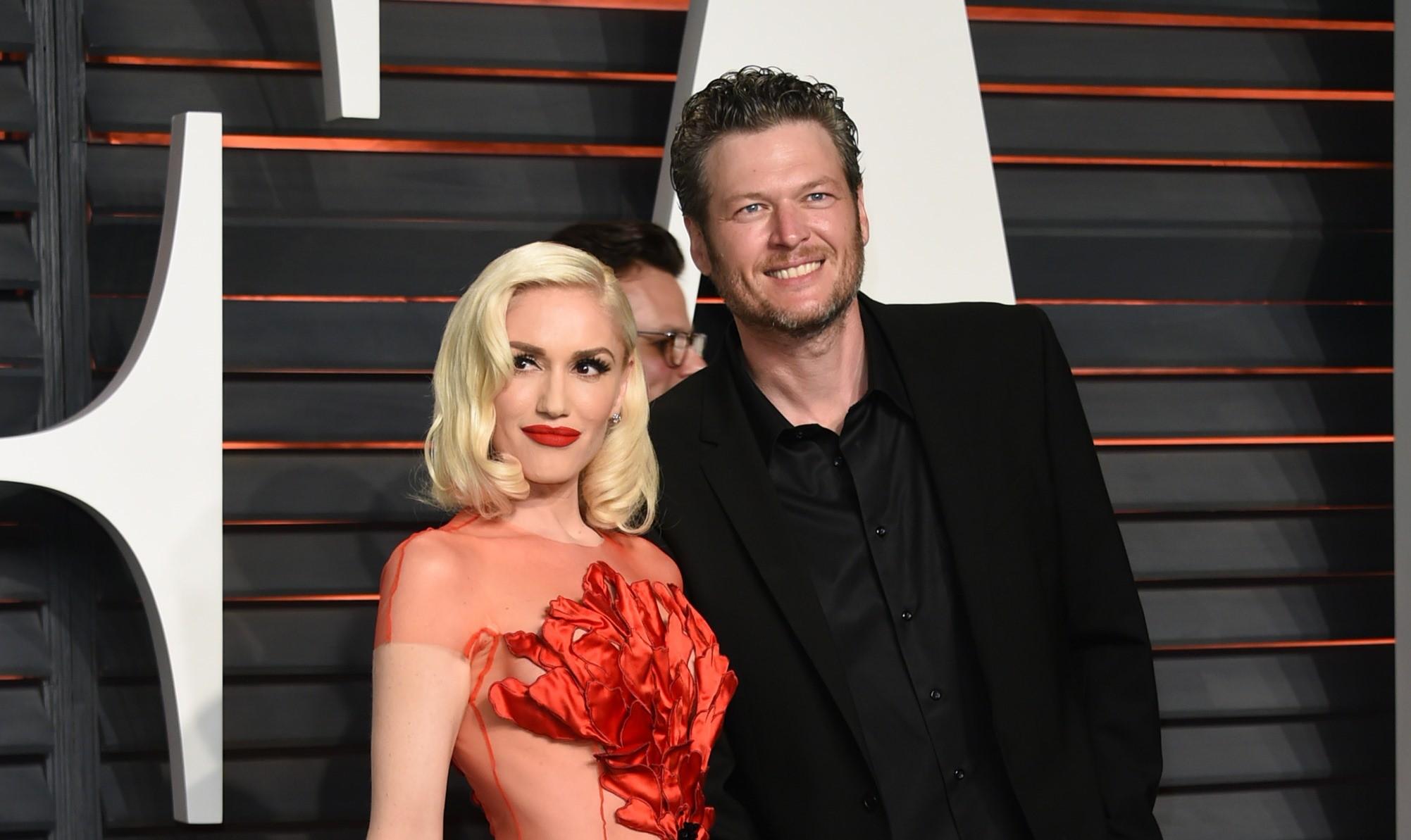 Blake Shelton e Gwen Stefani lanaram 'Go Ahead and Break My Heart' (Foto: Evan Agostini/Invision/AP)